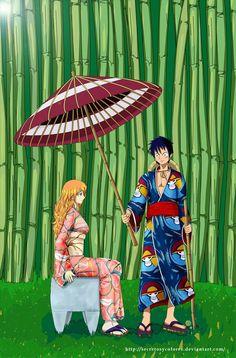 Entry by Kaizoku One Piece Nami, Luffy X Nami, Roronoa Zoro, 0ne Piece, One Piece Fanart, One Piece Images, Nico Robin, Anime Neko, Lovey Dovey