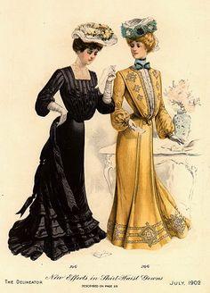 1902 delineator fashion