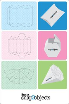 Here is another amazing post with 3 box templates ready to use in your packagingprojects. In the next posts I will give u at least 2 ideas of origami likeboxes (off course no glue needed) Meanwhi…