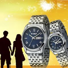 Fashion Design High Qualtily  Simple Style Free Shipping Factory Outlet Best Offer Brand  EYKI Lovers Watch 10pair/LOT 8470 on AliExpress.com. $215.25