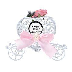 uhoMEy 5pcs Cinderella Carriage Candy Chocolate Boxes Birthday Wedding Party Favors by uhoMEy, http://www.amazon.com/dp/B01KJZJF10/ref=cm_sw_r_pi_dp_x_FAwGzb31QR5V7