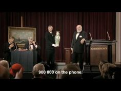 Italian auction. A Chinese Ming Vase is up for auction. The bidding opens at a half-million Euros.  .☼ Aspirin Cardio: Auction - YouTube