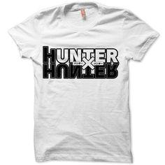 Hunter X Hunter Logo Japanese Anime White T-shirt Size S M L XL XXL #ratedblue #tees Want!!!