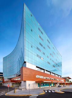 Parkin Architects Limited | Surrey Memorial Hospital #LEED #healthcare #design #architecture