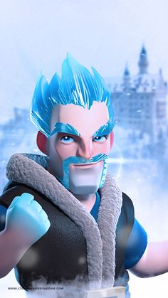 Clash of Clans - Clash Royale - Clash of Clans Wallpapers - Clash Royale Wallpapers - Wallpapers Games - SuperCell Wallpapers - Games Mobile Wallpaper Coc, Royal Wallpaper, Original Wallpaper, Coc Clash Of Clans, Clash Of Clans Game, Desenhos Clash Royale, Dragon Clash, Game Character, Ice King