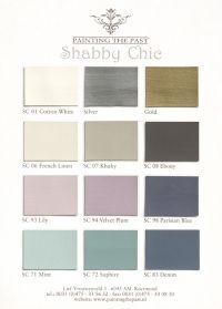 ~ Shabby Chic colors