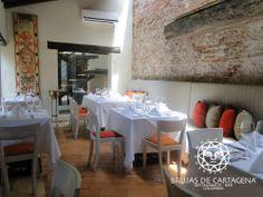 Restaurante Brujas de cartagena Cartagena, Colombia Bar, Table, Furniture, Home Decor, Environment, Living Room Red, Cartagena Colombia, Diners, Bruges