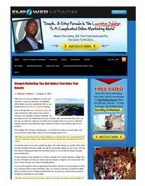 Network Marketing Tips And Advice That Gives Your Results