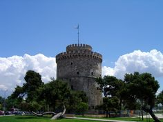 The White Tower - The symbol of the city ! Thessaloniki, Cosmopolitan, Things To Do, Landscapes, Youth, Tower, Culture, Explore, History