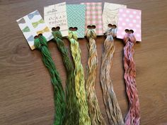Pretty Lot of Overdyed Floss - Natural Dyes  Lot 64  - Wholesale Pricing #QueenCityDyeCompany