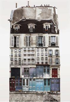 Anastasia Savinova's Architectural Collages