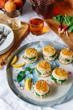 west elm - Crab Salad Biscuit Sliders