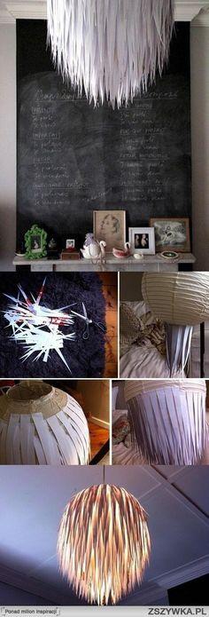 Ciekawy #żyrandol może odmienić wnętrze. A Ciebie jaki zainspirował? Linki do zdjęc zamieść w komentarzu ;)