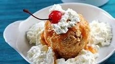 All the flavor of the traditional Mexican dessert but using Cinnamon Toast Crunch to replace the fried topping.