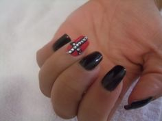 Gel manicure with design. We are specialize Gel nails & acrylic nails.