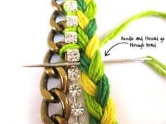 Friendship Bracelets - Tutorial