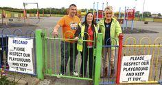 Locals vow to reclaim park Dublin, Vows, Playground, June, Park, Children Playground, Parks, Outdoor Playground