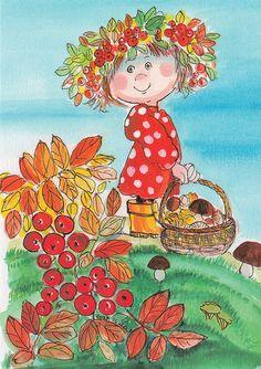 Autumn maiden by Virpi Pekkala