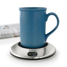 I need this! The day I finish a warm cup of coffee will amaze me!   fabuloushomeblog.comfabuloushomeblog.com