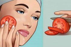 λίγη Cellulite Remedies, Acne Remedies, Natural Remedies, Was Ist Soda, Tomato Face, How To Get Rid Of Acne, Prevent Wrinkles, Look Younger, Facial Masks