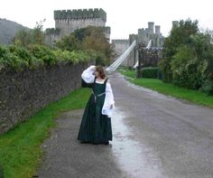 Conway Castle by ~Abigial709b on deviantART  Again, not Tudor but oh how I love it and want one!