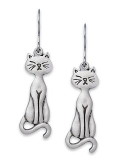 Charming Cat Earrings - AmeriMark - Online Catalog Shopping for Womens Apparel | Beauty Products | Jewelry | Womens Shoes | Health | Wellness
