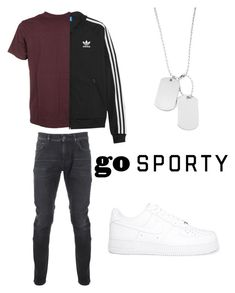 """Outfit#19"" by blackvans ❤ liked on Polyvore featuring Kent & Curwen, NIKE, Carhartt, adidas Originals, Variations, men's fashion, menswear, adidas, sporty and nike"