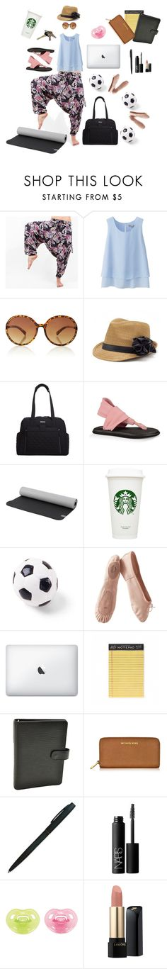 """The Mother Buddha"" by buddhapants ❤ liked on Polyvore featuring Uniqlo, The Limited, Peter Grimm, Vera Bradley, sanuk, prAna, Avon, Ball, Porselli and Rifle Paper Co"
