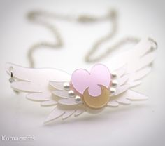 PREORDER Eternal Sailor Moon Inspired Necklace by kumacrafts. $25.00, via Etsy.