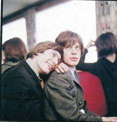 Charlie Watts & Mick Jagger