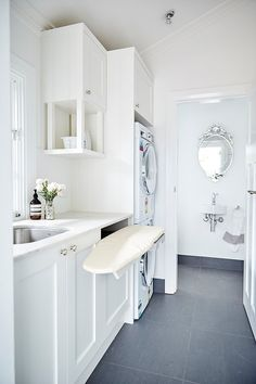 Provincial Kitchens is a bespoke kitchen design company that is commited to building exquisite kitchens, bathrooms and interiors for your home. Laundry Decor, Laundry Room Organization, Laundry Storage, Laundry Room Design, Laundry In Bathroom, Laundry Chute, Laundry Closet, Laundry Organizer, Budget Bathroom