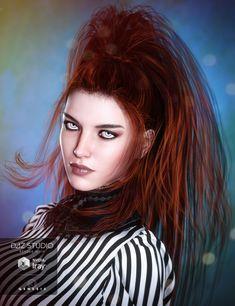 Twilight Hair for Genesis 3 Female(s)