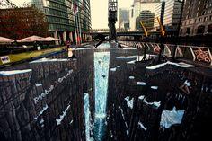 Street Art. Guiness world record 3d street art by *jamielawrence