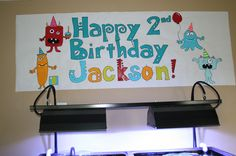 Birthday Banner from Sew much Crafting