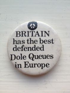 Britain has the best defended dole queues in Europe