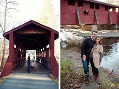 Fall Maternity Photos. Love this location!
