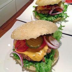 Amerikanske hamburgere