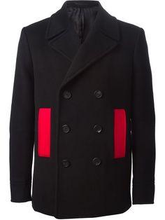 Givenchy Contrasting Pocket Coat