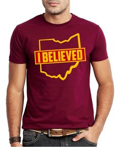 3baaa5c30 CLEVELAND CAVALIERS - I BELIEVED Tshirt by SaltNLightApparel on Etsy