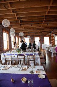 Hobart and Haven: String Chandeliers- DIY wedding decoration