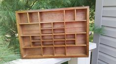 Check out this item in my Etsy shop https://www.etsy.com/listing/249602051/vintage-shadow-box-wood-cubby-for