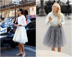 Top 21 tulle skirt trends with all of the benefits and features provided by the tulle skirts, it can be concluded that it is a great fashion for all ages and activities for women and girls like to wedding, bridesmaid, prom night and other. Diy Tulle Skirt, Tulle Dress, Dress Skirt, Tutu Skirts, Ballerina Skirts, Diy Fashion, Autumn Fashion, Skirt Fashion, Vintage Sportswear