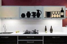 Buenos días os presentamos una práctica y original forma de decorar nuestra cocina. Descubre los vinilos decorativos para cocinas, ofrecerá al espacio ese toque distinto que buscas. Lo podrás pegar en muebles, paredes, azulejos, puertas, etc.