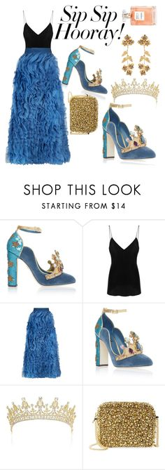 """Black and blue"" by explorer-15222757436 ❤ liked on Polyvore featuring IRO, Alice + Olivia, Blakus, Jennifer Behr, girlstrip and WineTastingOutfit"