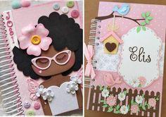 Capa de caderno em EVA - 30 ideias   Como fazer em casa Kakashi Hokage, Happy Birthday Name, Decoration, Diy And Crafts, Projects To Try, Scrapbook, Ideas, Door Hangings, Marker Crafts