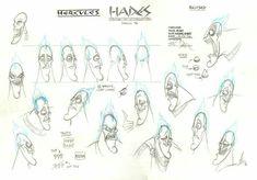 Model sheet - hades - nik rianieri