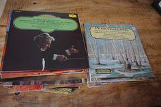 Lote 2 Colecciones Completas De Discos Vinilos - Los Grandes Temas De La Música (65 VINILOS) + Los Grandes Compositores (100 VINILOS) de lahaciendavintage en Etsy