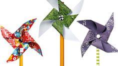 How to make pinwheel pencils
