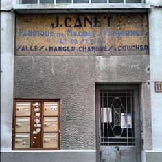 @janettesvn Instagram photos | Old mosaic #signage #Paris #paris11 #doorway #Parisjetaime #IloveParis #instafrance #instaparis #igersparis #ig_paris