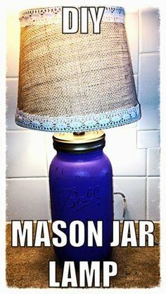 Three Little Laughs: DIY Mason Jar Lamp